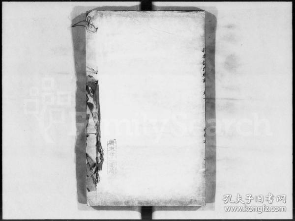 伍氏合族总谱 [13卷,首2卷] 复印件