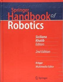 Springer Handbook Of Robotics (springer Handbooks)