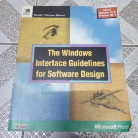 The Windows Interface Guidelines for Software Design软件设计的windows界面指南