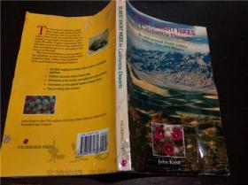原版英法德意等外文 50 BEST SHORT HIKES in california Deserts/krist/WILDERNESS PRESS 1995年 大32开平装