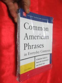 Common American Phrases in Everyday Contexts, 3rd Edition   锛堝皬16寮� 锛� 銆愯瑙佸浘銆�