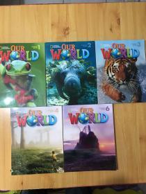 OUR WORLD STUDENT BOOK 1.2.3.4..6锛�5鏈甫鍏夌洏鍚堝敭锛� 鎴戜滑鐨勪笘鐣� 瀛︾敓鐢ㄤ功 16寮�閾滅増褰╁嵃