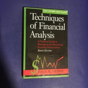 Techniques Financial Analysis