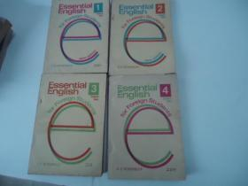 Essential Englishu for Foreign Students【Book11、2、3、4全四册】【基础英语 学生用书】