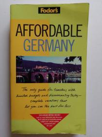 AFFORDABLE GERMANY  (英文原版  玩得起的德国)
