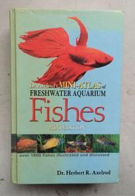 Dr Axelrod' Mini-Atlas of Freshwater Aquarium Fishes 锛堝ぇ32寮�纭簿瑁咃紝992椤甸摐鐗堢焊褰╁嵃锛�