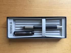 PARKER派克钢笔 威雅胶杆墨水笔 商务高档男士女生送礼物 可替换墨囊 (企业定制)