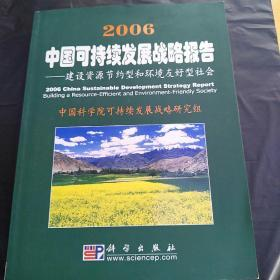 2006 中国可持续发展战略报告