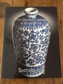 FINE CHINESE CERAMICS WORKS OF ART HONGKONG8OCTOBER2010 Sotheby`s苏富比