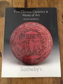 Sotheby`s苏富比FINECHINESE CERAMICS WORKS OF ART NEW YORK 15 SEPTEMBER2010