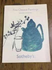 FINE CHINESE PAINTINGS 2009 Sotheby`s苏富比