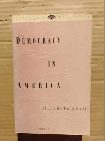 democracy in america: volume 2-------锛堣鍥撅級                   锛堝ぇ32寮�锛夈��140銆�