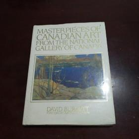 MASTERPIECES OFCANADIAN ART FROMTHE NATIONAL GALLERY OF CANADA (大16开.精装)