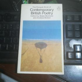 The Penguin Book of Contemporary British Poetry 英文原版