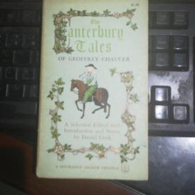 1961年newYork版 杰弗雷·乔叟 坎特伯雷故事集 The Canterbury Tales of Geoffrey Chaucer