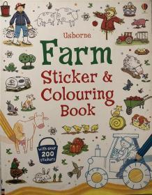 骞宠 Farm Sticker and Colouring Book 鍐滃満璐寸焊鍜屽僵鑹蹭功绫�