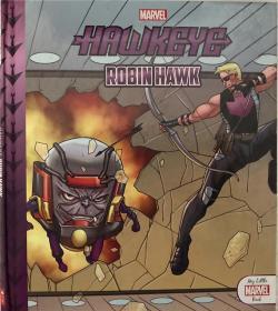 绮捐 My Little Marvel Book Hawkeye - Robin Hawk 鎴戠殑灏忓杩逛功楣扮溂-缃楀楣�