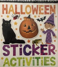 骞宠灏侀潰绋嶆湁鐟曠柕 My First Sticker Activity: Halloween Sticker Activities鎴戠殑绗竴涓创绾告椿鍔細涓囧湥鑺傝创绾告椿鍔�