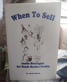 When to Sell:Inside Strategies for Stock-Market Profits