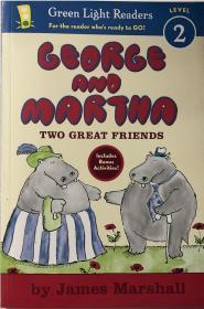 骞宠 George and Martha Two Great Friends Early Reader 涔旀不鍜岀帥鑾庝袱涓ソ鏈嬪弸鏃╂湡璇昏��