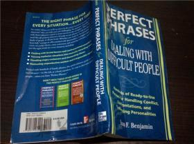 原版英法德意等外文 英文原版 管理类 Perfect Phrases For Dealing With Difficult People  2008年 32开平装