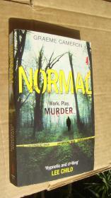 NORMAL (Work,play.murder) 英文原版大32开