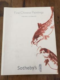 FINE CHINESE PAINTINGS HONGKONG5OCTOBER2010 Sotheby`s苏富比