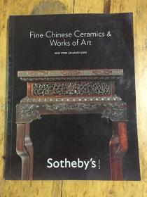FINE CHINESE CERAMICS &WORKS OF ART NEW YORK23MARCH2010 Sotheby`s苏富比<中国精细陶瓷与艺术作品纽约2010年3月23日