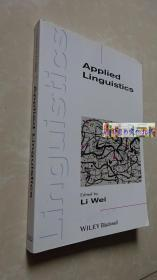 Applied Linguistics Li Wei  著