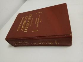 ANTHOLOGY OF AMERICAN LITER ATURE(second edition vloume 1 part2)