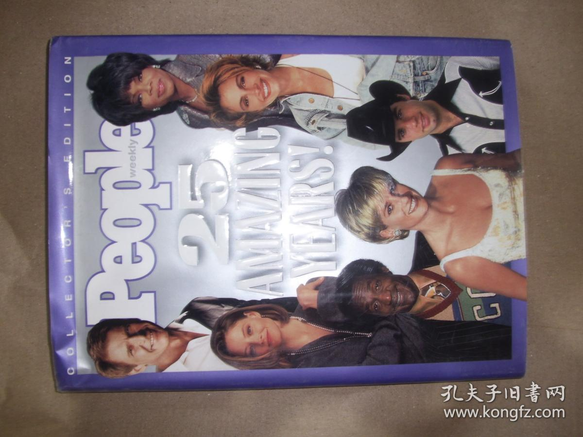 People Weekly: 25 Amazing Years! 外文画册