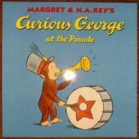 Curious George at the Parade  阅兵中的好奇猴乔治