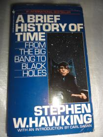 A BRIEF HISTORY OF TIME STEPHEN W.HAWKING(英文原版  时间简史)