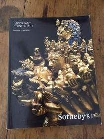 SOTHEBY'S 苏富比---IMPORTANT,CHINESE ART LONDON11MAY2016