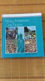 Many Americans - One Nation (Economy Social Studies)原版外文