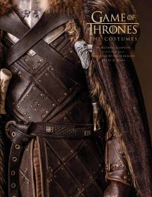 订权力的游戏 服装设计画册 美国版 Game of Thrones: The Costumes, the official book from Season 1 to Season 8
