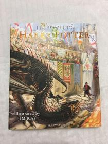 订哈利波特与火焰杯绘本插画版 英国版 Harry Potter and the Goblet of Fire: The Illustrated Edition