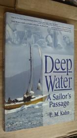 Deep Water:a sailor's passage  英文原版24开