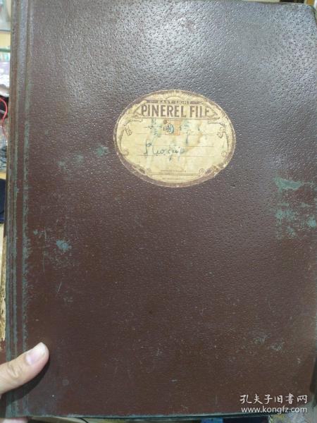 早期收藏,欧洲老文件夹,书夹