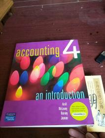 ACCOUNTING 4 an introduction ISBN