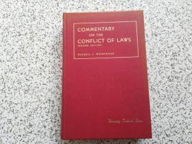 Commentary on the Conflict of Laws    精装本