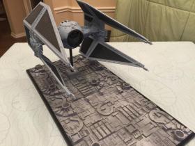 星球大战系列维达TIE高级战斗机 模型 GK 75厘米