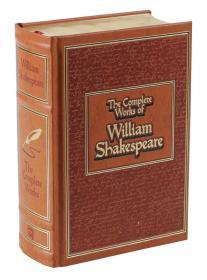 英文原版 英语 The Complete Works of William Shakespeare 莎士比亚全集 精装硬皮 金边
