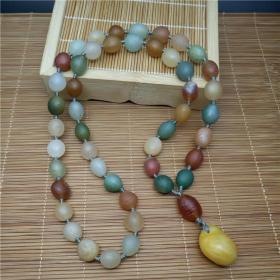 純天然奇石項鏈,多彩極品瑪瑙項鏈,頂級瑪瑙原石項鏈,極品色彩純正,艷麗,精品戈壁瑪瑙項鏈,瑪瑙奇石項鏈,精品薈萃成一串,收藏珍品