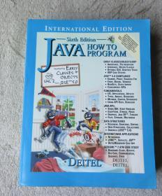 Java : how to program  (Sixth Edition)