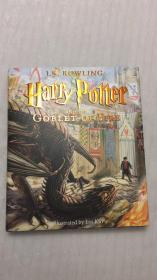 订哈利波特与火焰杯绘本插画版 美国版 Harry Potter and the Goblet of Fire: The Illustrated Edition