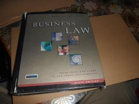 Business Law Principles and Cases in the Legal Environment((大16开 精装英文原版)