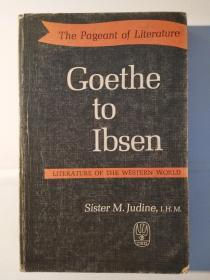 The Pageant of Literature: Goethe to Ibsen