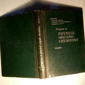 progress in physical organic chemistry  volume 1