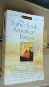 The Signet Book of American Essays 美国经典短文集